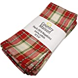 """Country Maison Festive Cloth Napkins 