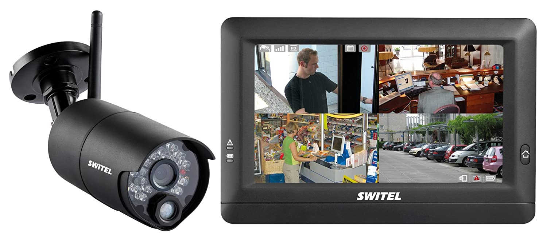 SWITEL HSIP 5000 Inalámbrico - Kit de videovigilancia (Inalámbrico, Bala, Radio, Interior/exterior, 3,6 mm, CMOS): Amazon.es: Bricolaje y herramientas