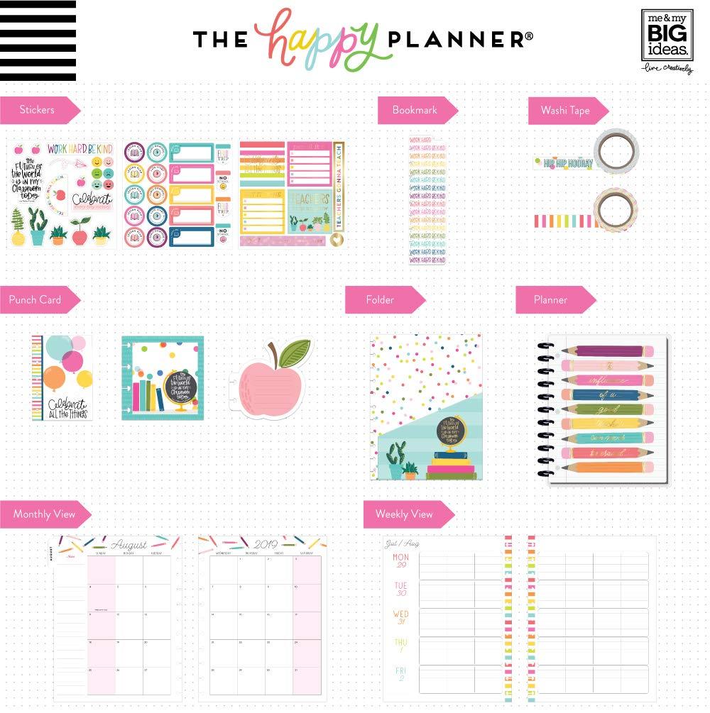 The me & my BIG ideas Teacher Box Kit - Teacher's Influence - 12 Months August 2019-July 2020 by Me & My Big Ideas