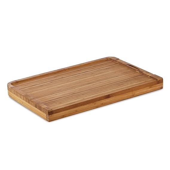 Compra Klarstein Chopmaster Tabla de Cortar y báscula de Cocina bambú (Balanza integrada extraíble, Pesa hasta 5 kg, Pantalla LCD, sensibilidad 1 gramo) ...