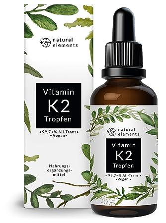nowa wysoka jakość szczegółowe zdjęcia złapać Vitamin K2 MK-7 200µg - 1700 Tropfen (50ml) - Höchster All-Trans Gehalt  99,7+% (K2VITAL® von Kappa) - Laborgeprüft, vegan, hochdosiert, hergestellt  in ...