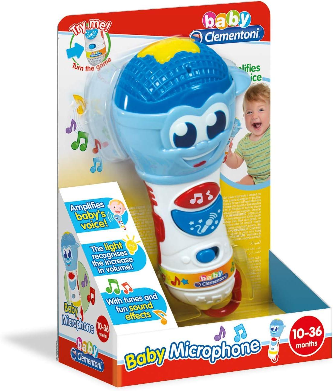 Clementoni – Baby micrófono – Premier edad, 17181: Amazon.es ...