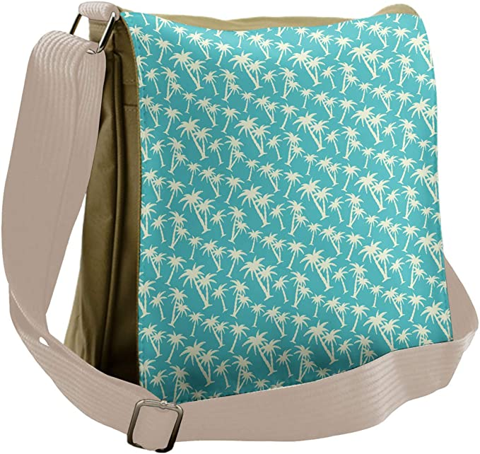 Exotic Beach Photo Ambesonne Tropical Gym Bag Large Weekender Carry-on