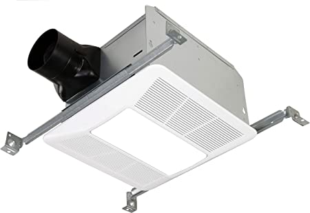 Kaze Appliance Ultra Quiet Bathroom Exhaust Fan With Led Light And