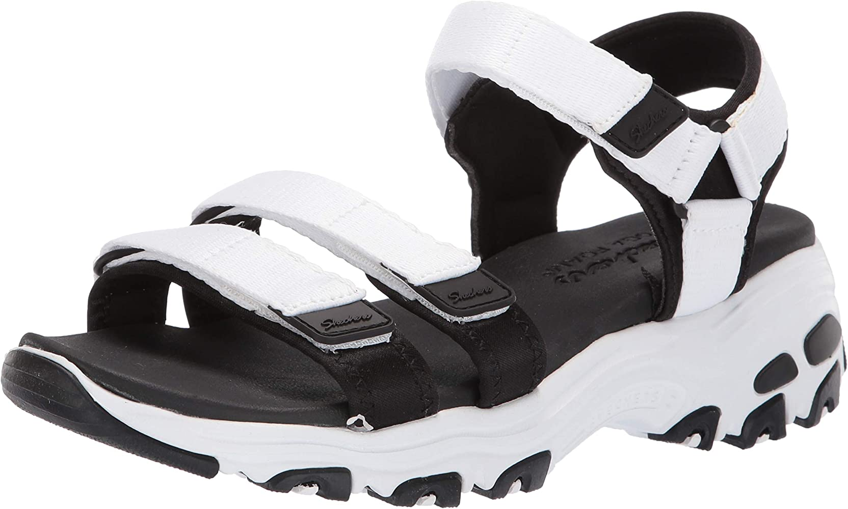 Skechers DLites Fresh Catch 31514WBK, Sandalias