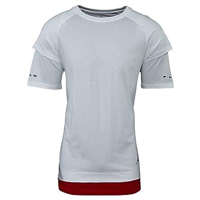 411f3f7f5eb Amazon.com: Jordan Retro 13 Double Layer T-Shirt: Clothing
