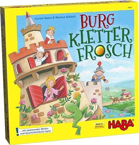 HABA - Burg Kletterfrosch