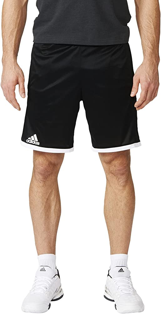 adidas Court Pantalón de Tenis, Hombre, Negro/Blanco, M: Amazon.es ...