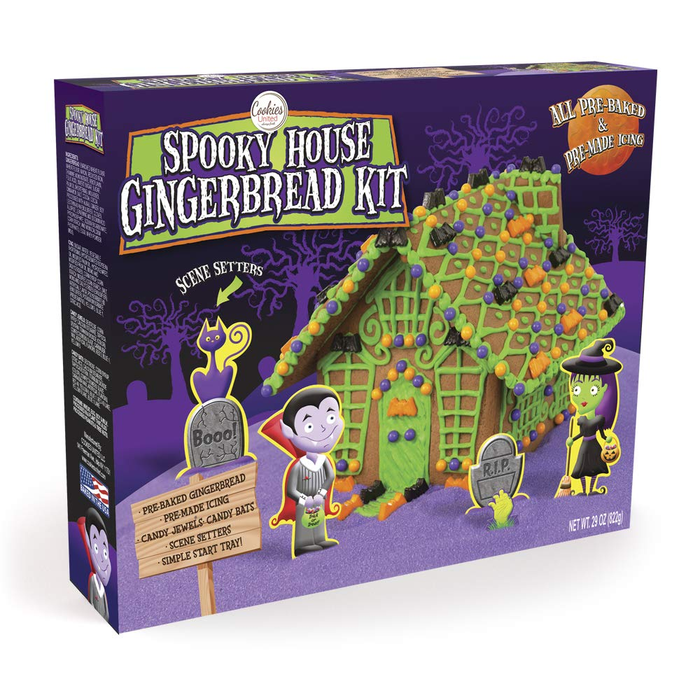 Spooky House Gingerbread Kit