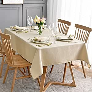 Maxmill Jacquard Cloth Napkin 20 X 20 Inch Swirl Pattern Solid Washable Polyester Dinner Napkins Set Of 4 Pieces With Hemmed Edges For Family Holiday Dinners Weddings Parties And Banquets Beige Home Kitchen Amazon Com