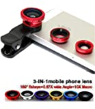 VOLTAC Clip Lens/3 in 1 Photo Lens/Camera Lens for Smartphones. Pattern #209863