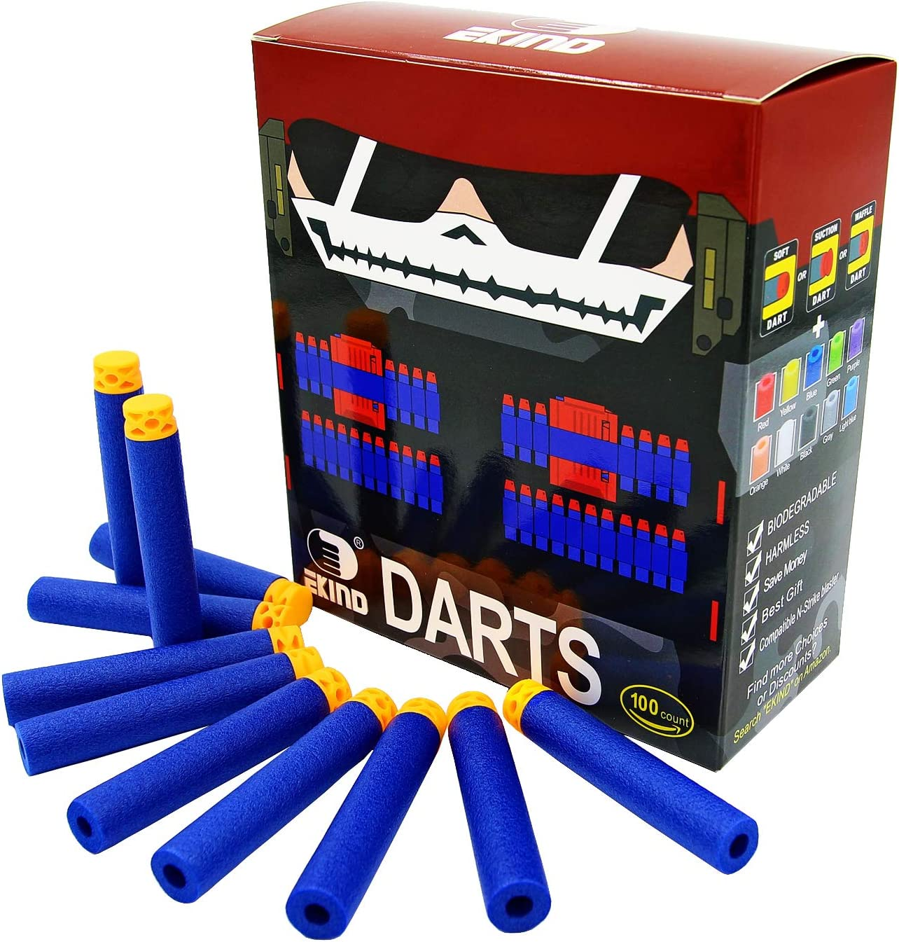 Waffle Tipped Darts For Nerf Guns Brand New!