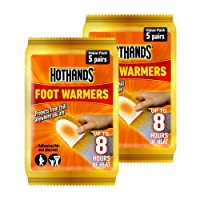 Hot Hands Foot Warmer Value Pack of 5 pairs(Pack of 2)