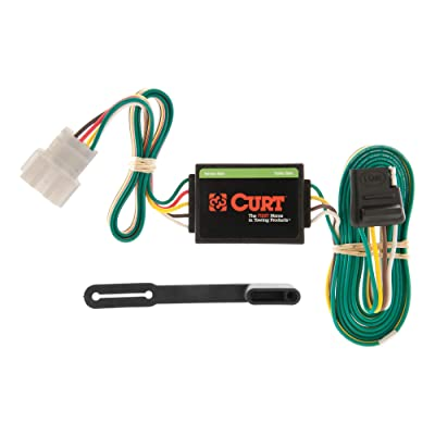 CURT 55106 Vehicle-Side Custom 4-Pin Trailer Wiring Harness for Select Honda CR-V: Automotive