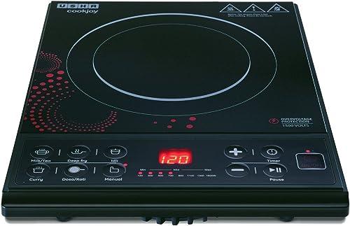 6. Usha Cook Joy 1600-Watt Induction Cooktop