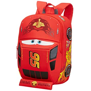 Disney Ultimate S+ Pre-School Cars Mochila Infantil, 11.5 litros, Color Rojo: Amazon.es: Equipaje