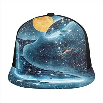 Dolphin Animal Luna Llena Starry Goddess Snapback