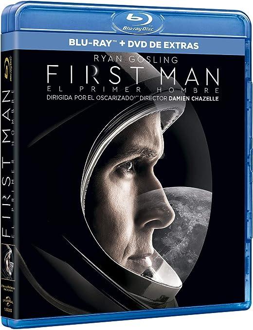 First Man (BD + DVD Extras) [Blu-ray]: Amazon.es: Ryan Gosling ...