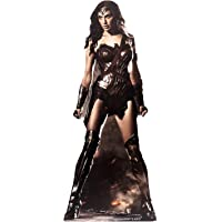 DC Comics Wonder Woman (GAL Gadot) Vida tamaño de cartón Recorte out, Multi Color