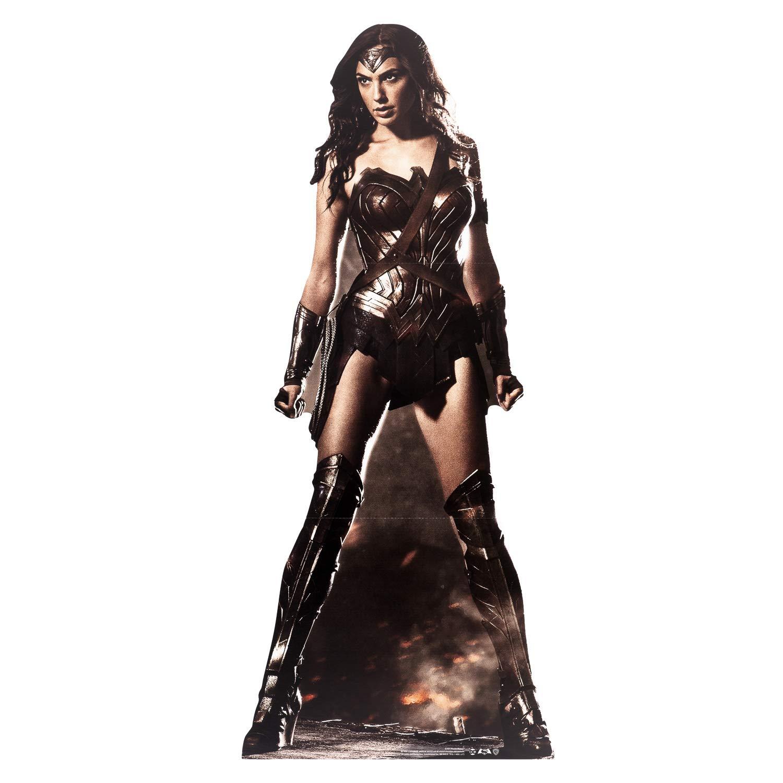 DC COMICS Wonder Woman (Gal Gadot) Life Size Cardboard Cut Out, Multi colour STAR CUTOUTS LTD SC1031