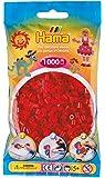 Hama Beads 207-22, Dark Red (1000 Midi Beads)