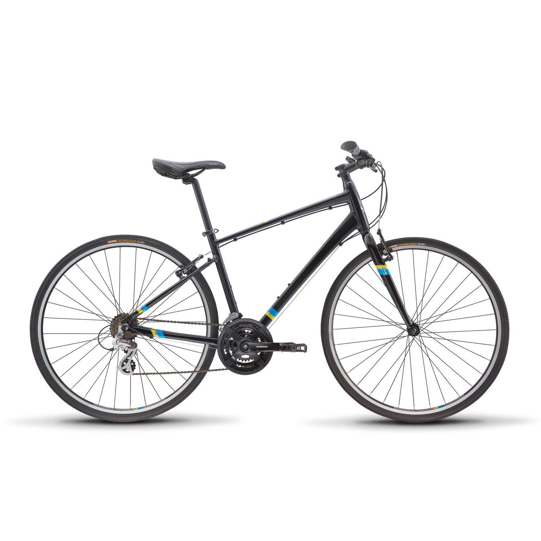 新しい2018 Diamondback Insight 1 Complete舗装バイク B0761Y1DP2ブラック Medium