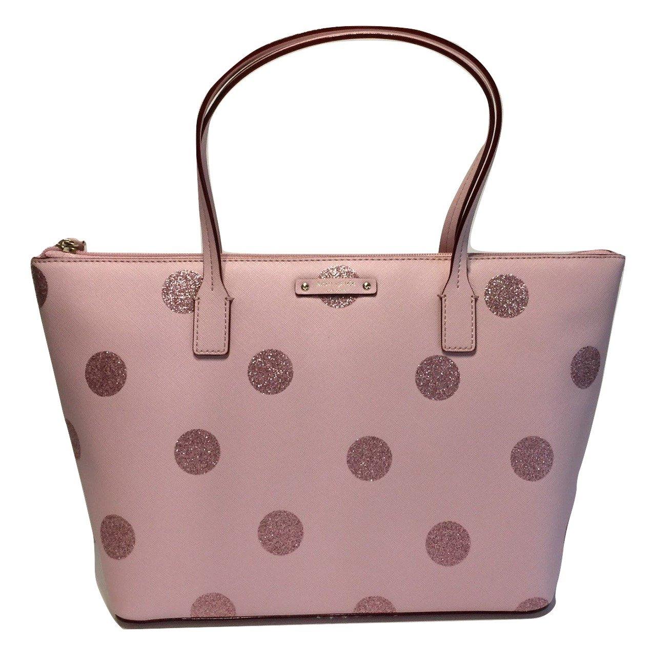Kate Spade New York Haven Lane Hani Shoulder Handbag (Ballet Slippers Polka Dot Glitter)