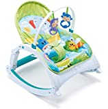 Webby Fiddle Diddle Baby Multipurpose Rocker (Multicolour)