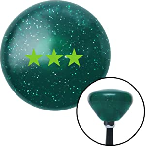 American Shifter 207299 Green Retro Metal Flake Shift Knob with M16 x 1.5 Insert (Green Officer 09 - Vice Admiral)