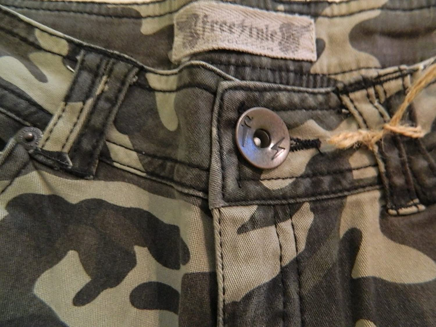 Women's Junior Freestyle Revolution Camouflage Pants