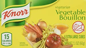 Knorr Vegetable Bouillon Cubes, Pack of 12