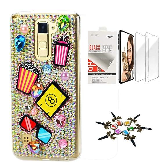 online store 1ade3 cbc79 Amazon.com: STENES Bling Case Compatible LG Stylo 2 / LG LS775 ...