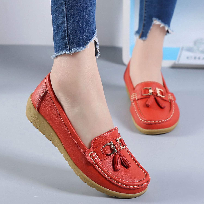 Alfalfa Plant Fashion Women Flat Shoes Ladies Solid Sneakers Shoes Round Toe Sewing Women Flats Shoes,Khaki,12