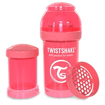 Twistshake Biberon Anti-colique Coral 180 ml