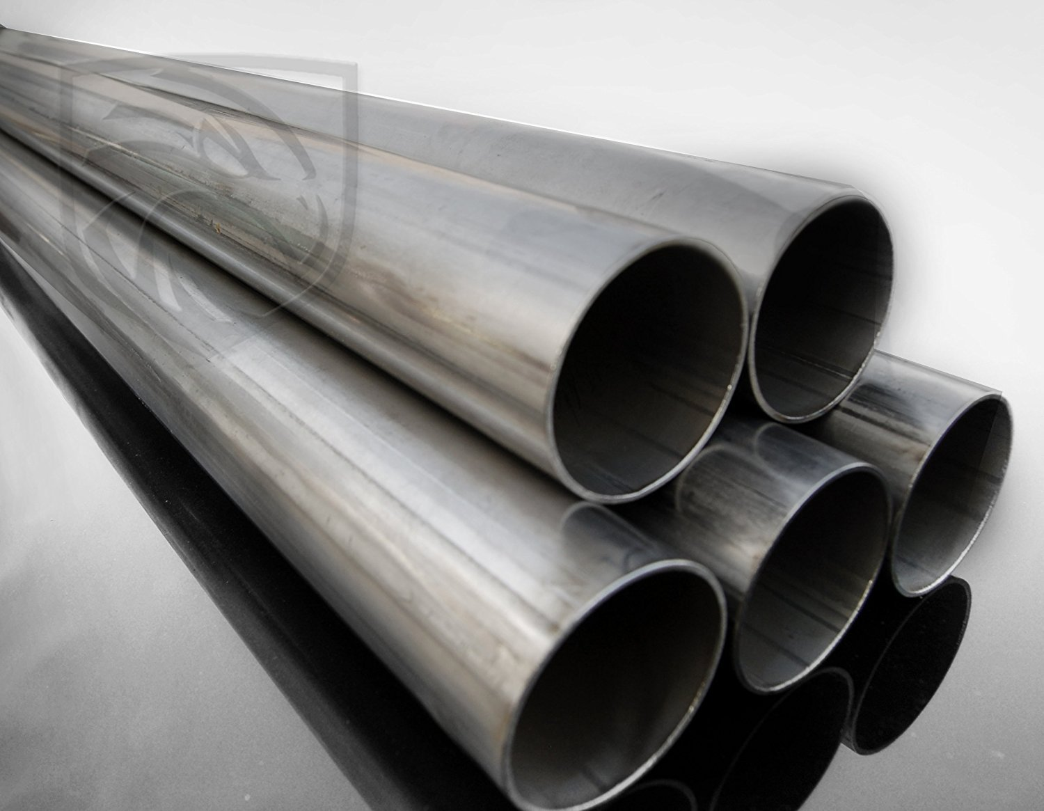 T304 Stainless Steel Round Pipe / Tube- 2.5'' OD, 16 Gauge, 5 Foot Tube #RTP-SP003-5