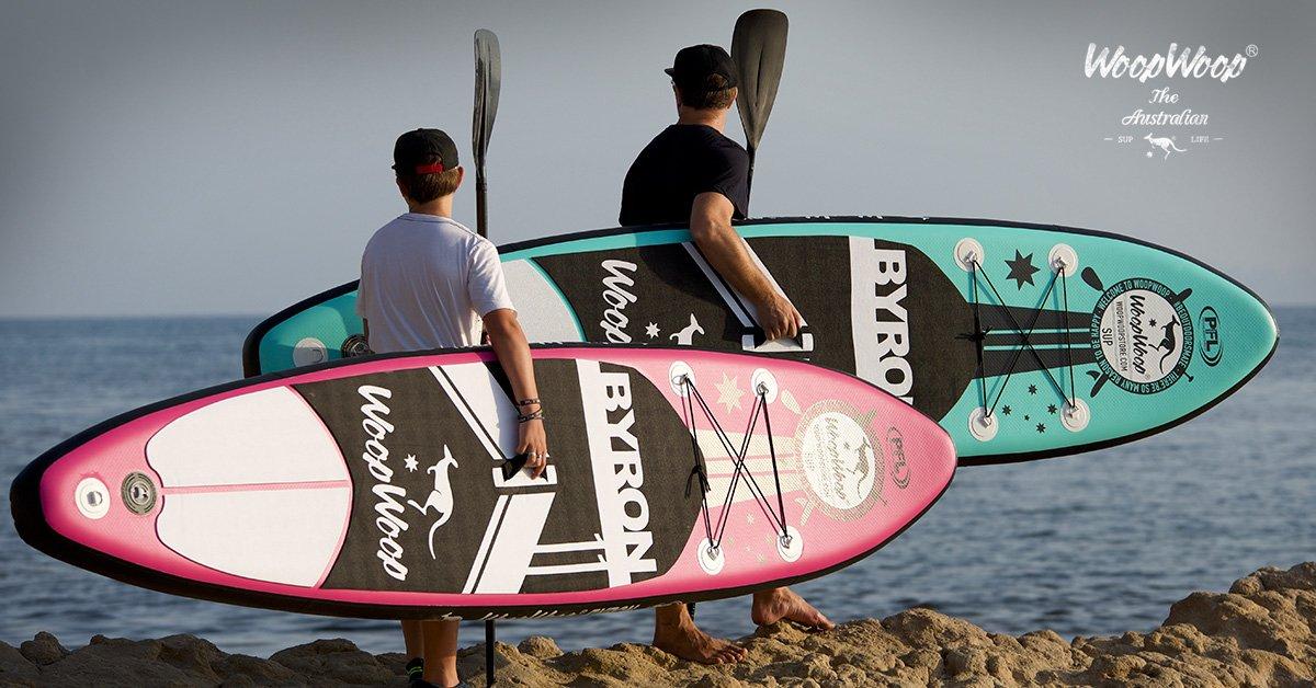 Woop Woop Tabla Paddle Surf Hinchable Byron 11 PFL SUPPFL13: Amazon.es: Deportes y aire libre