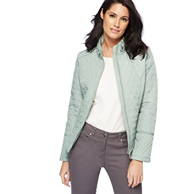 f26d02bfb Debenhams The Collection Womens Light Turquoise Quilted Jacket: The  Collection: Amazon.co.uk: Clothing