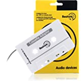 Amazon Price History for:Reshow Travel Cassette Adapter for Cars – Listen to iPods, Smartphones, MP3 Players or a Walkman in a Standard Vehicle Cassette Player – Vintage/Retro Music Converter