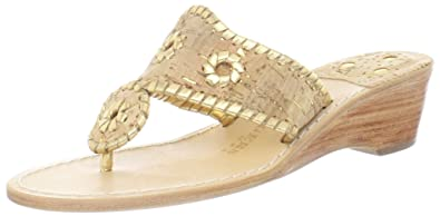 adc0704efea5 Jack Rogers Women s Napa Valley Mid Wedge Sandal