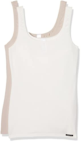 Skiny Advantage Cotton Tank Top Dp, Camiseta sin Mangas para Mujer (lot de 2)