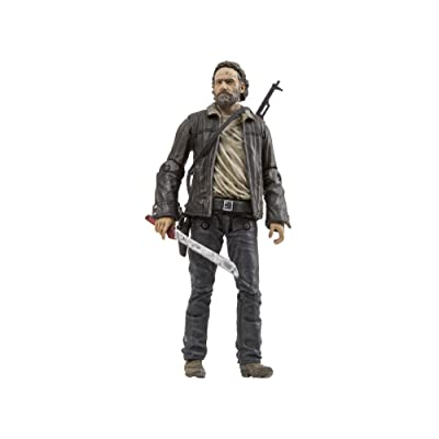 McFarlane Toys The Walking Dead TV Series 8 Rick Grimes Action Figure: Toys & Games
