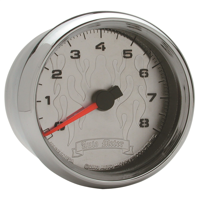 Tach Spek-Pro 2 1//16 Slvr//Blk 2 1//16 11K RPM W//Shift Light /& Peak Mem Auto Meter P33622 Gauge