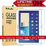Galaxy Tab 3 10.1 Glass Screen Protector, (P5200) AnoKe(0.3mm 9H) Tempered Glass Screen Protector Film Sheild For 10.1 P5200 Glass
