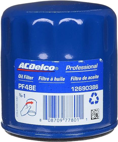Amazon.com: ACDelco PF48E - Filtro de aceite de motor ...