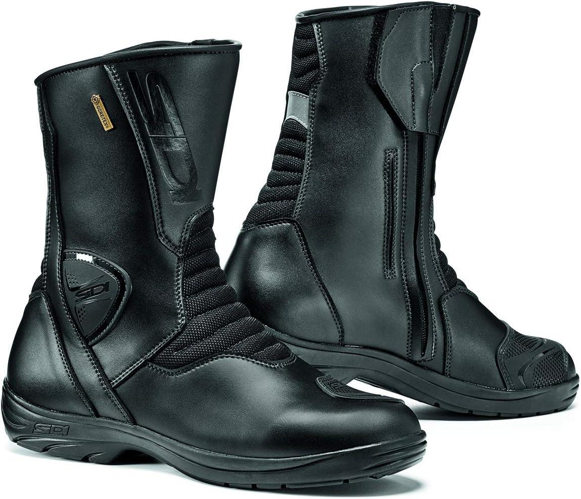 Size 44 Sidi Gavia Gore-Tex Motorcycle Boot Black