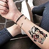 Horror-Shop Pin Up Pegamento Tatuaje Sexy Mecánico: Amazon.es ...