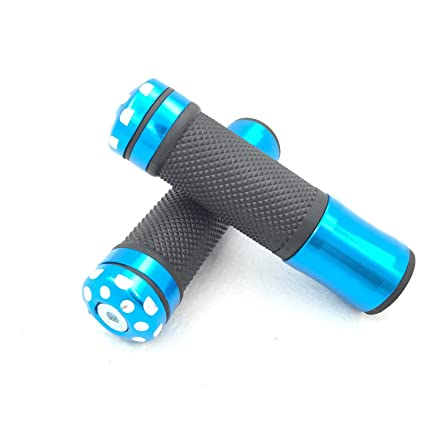 Amazon.com: HK MOTO Blue Rubber Hand Grips Fit For BMW ...