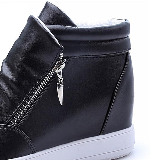 Amazon.com | Feilongzaitianba Wedges Shoes Woman Fashion Platform Shoes Women Zapatillas Mujer Casual Plataforma High Heels Women Ladies Shoes D5 | Pumps