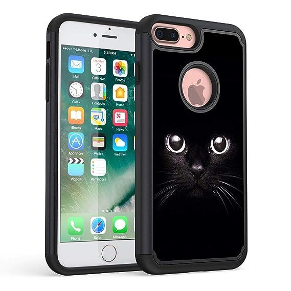 Amazon.com: Funda para iPhone 7 Plus, iPhone 8 Plus, Rossy ...