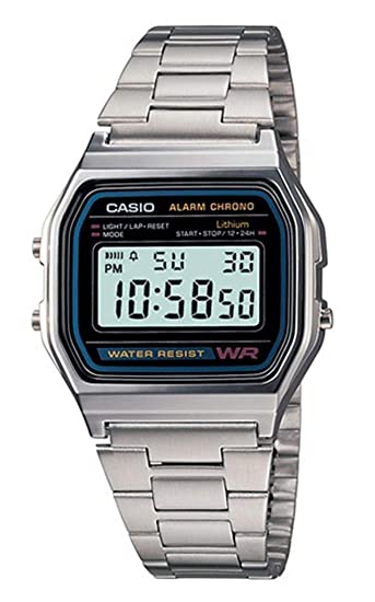 Amazon.com: Casio a168 W-1 Casio Illuminator Reloj: Casio ...